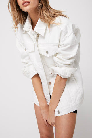 Rozalia x Atoir The Denim Jacket White