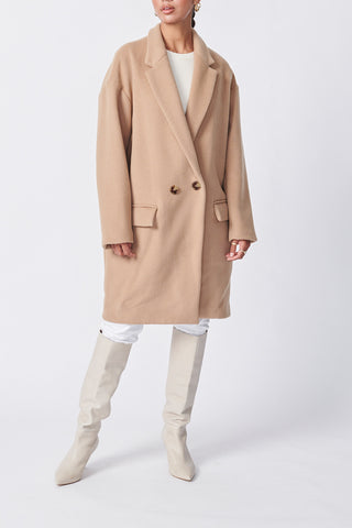 Ena Pelly Oversized Wool Coat