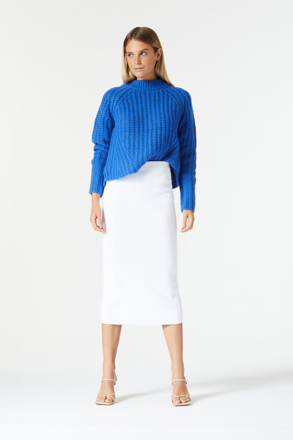 San Sloane Trinity Knit Royal Blue