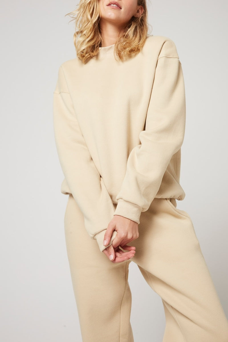 Rozalia x Atoir The Crew Sweater Oatmeal