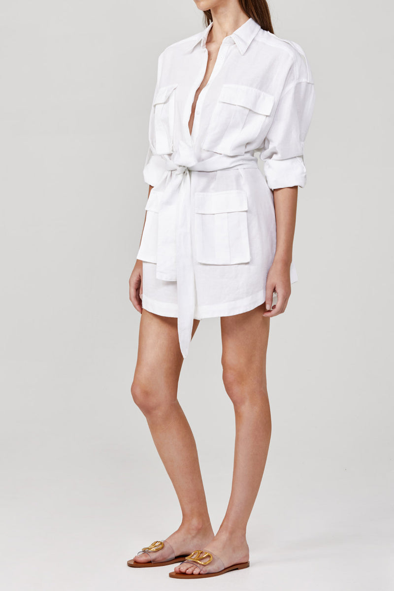 Significant Other Oralie Dress White