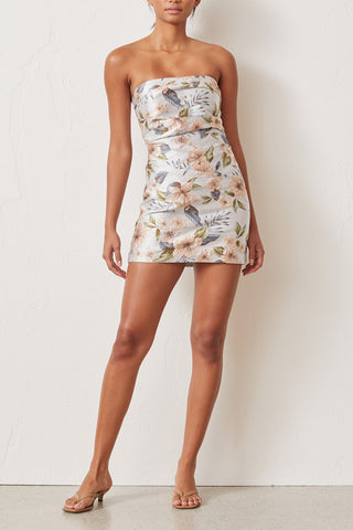 Bec and Bridge Fleurette Jacquard Mini Dress