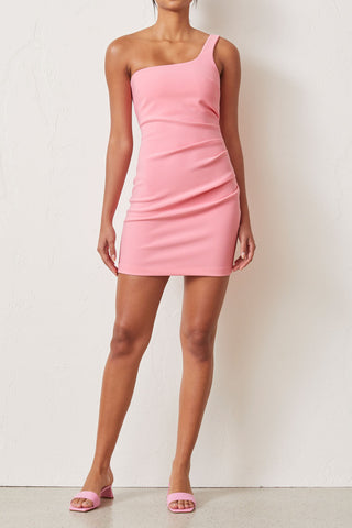 Bec and Bridge Paloma Mini Dress Flamingo