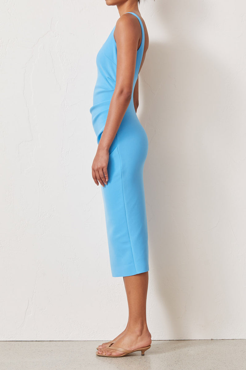 Bec and Bridge Paloma Midi Dress Azure
