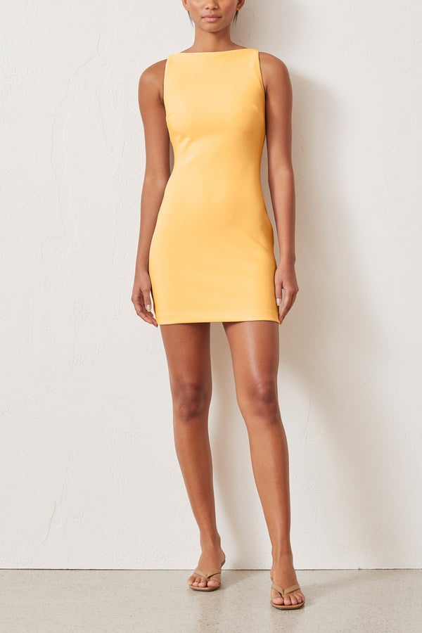 Bec and Bridge Raphaela Mini Dress Melon