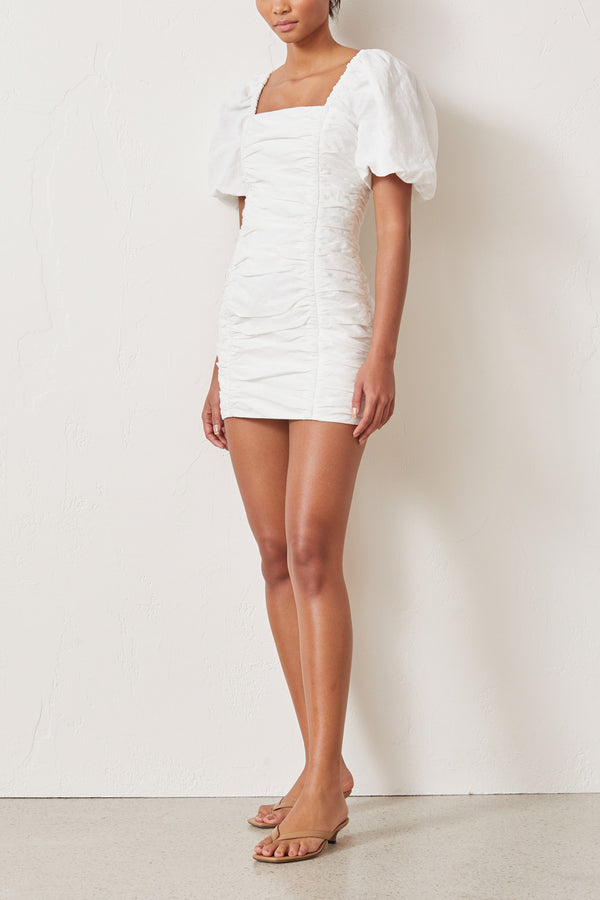 Bec and Bridge Jo Jo Mini Dress Ivory