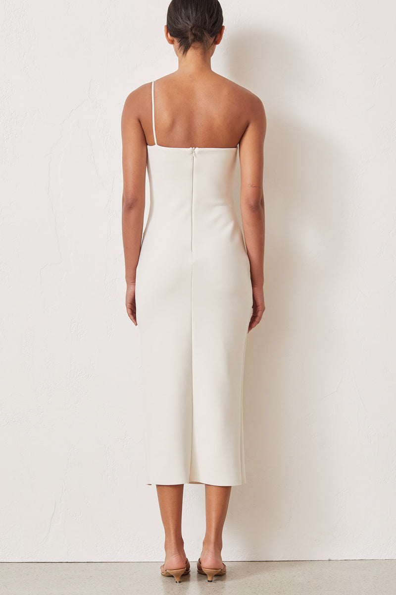 Bec and Bridge Raphaela Midi Dress Vanilla Bean