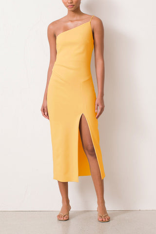Bec and Bridge Raphaela Midi Dress Melon