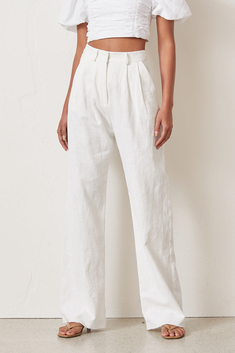 Bec and Bridge Natural Woman Pants Ivory