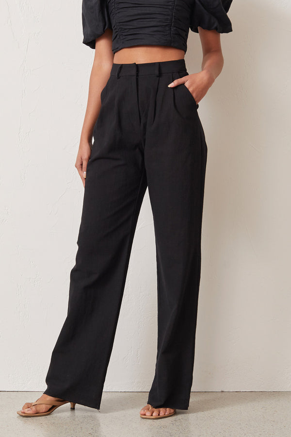 Bec and Bridge Natural Woman Pants Black