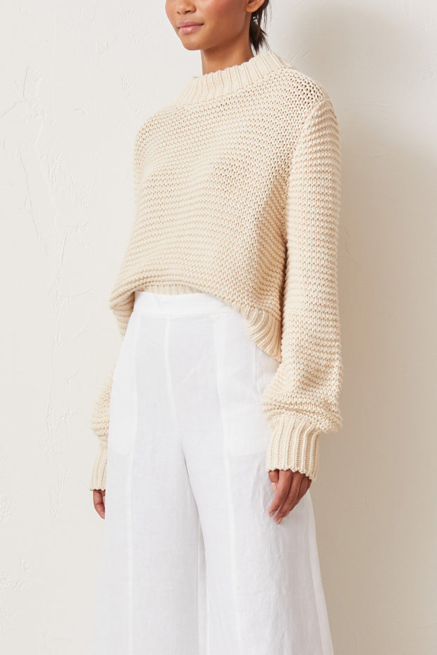 Bec and Bride Elsa Knit Jumper Oatmeal