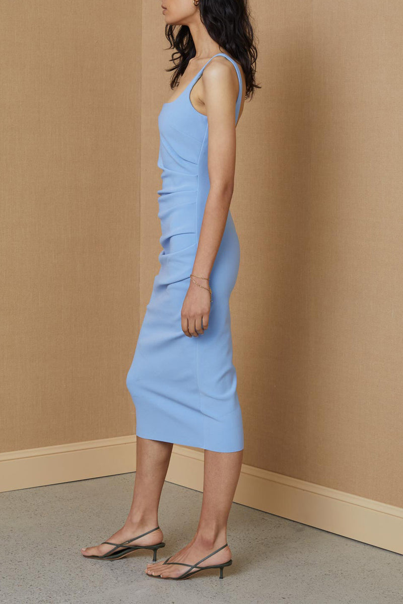 Bec and Bridge Hana Tuck Midi Dress