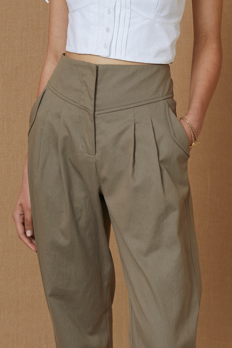 Bec and Bridge Tamsen Pant Clay