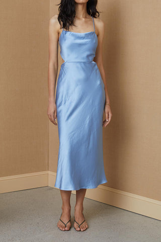 Bec and Bridge Raquel Midi Dress Baby Blue