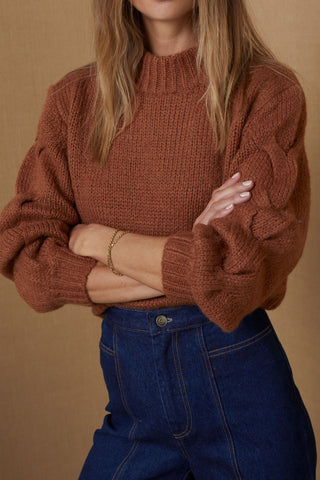Bec and Bridge Celeste Knit Jumper Clay
