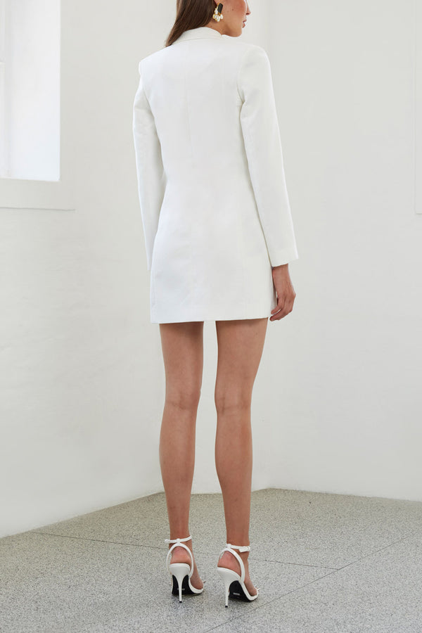 By Johnny Sofia Structured Blazer Dress
