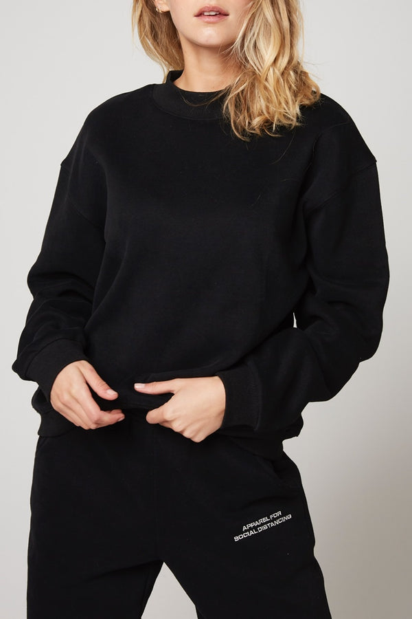 Rozalia x Atoir The Crew Sweater Black