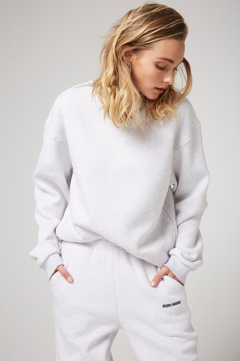 Rozalia x Atoir The Crew Sweater Grey