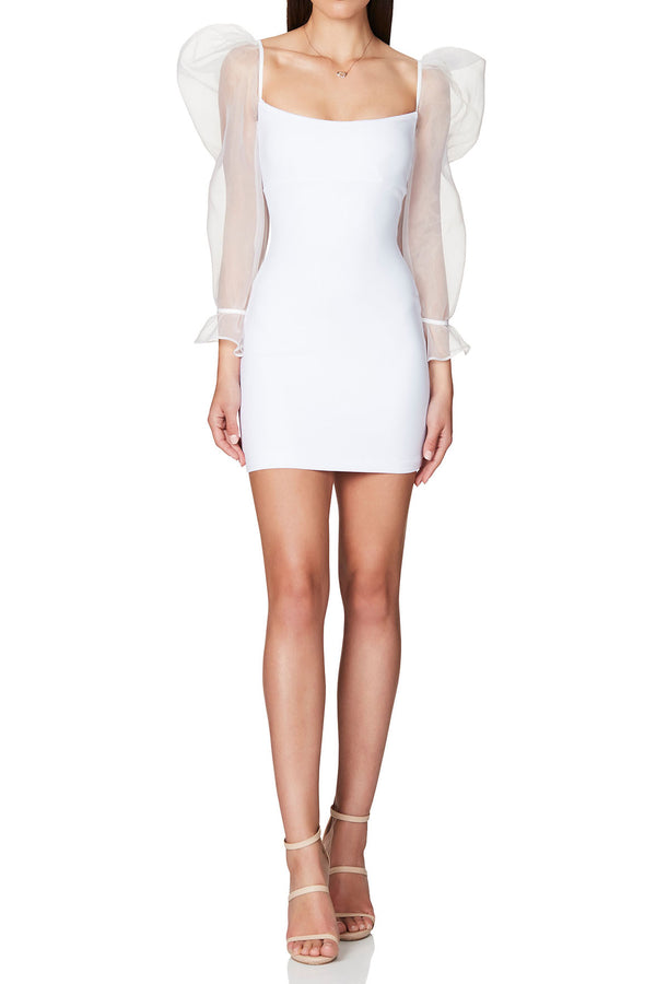 Nookie Eleganza Mini Dress White