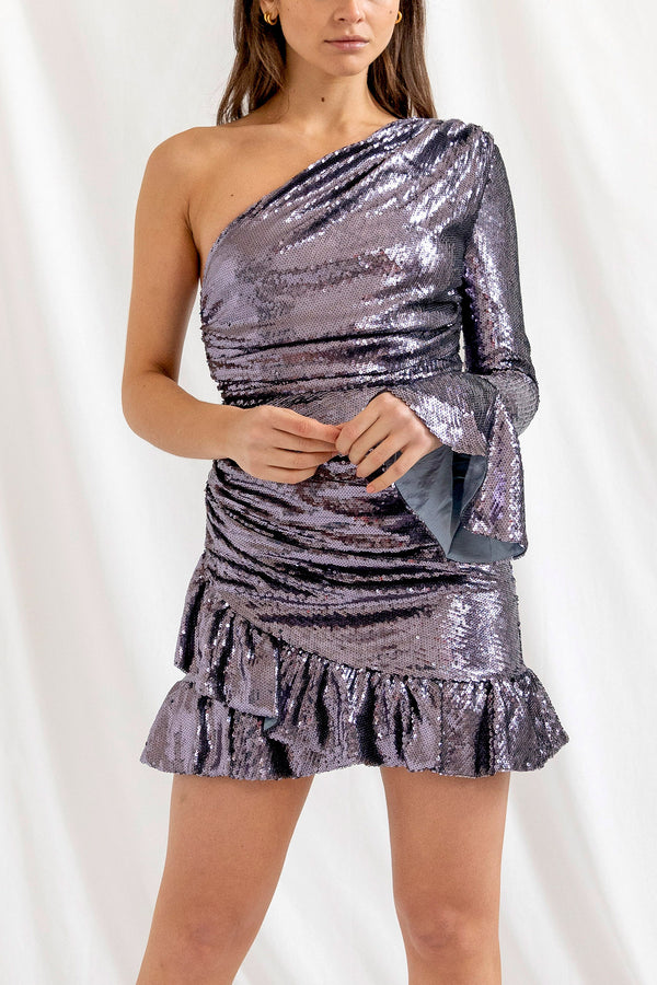 San Sloane Rania Sequin Dress