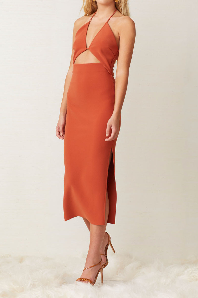 Bec and Bridge Ruby Midi Dress