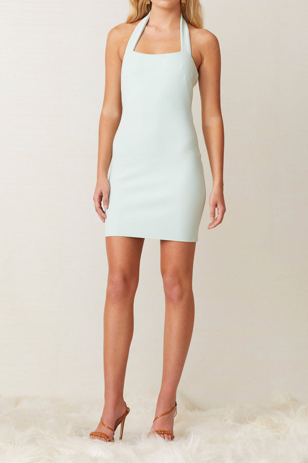 Bec and Bridge Ariel Mini Halter Dress Mint