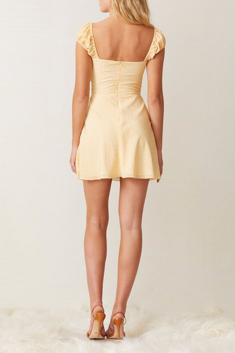 Bec and Bridge Butter Daisy Mini Dress