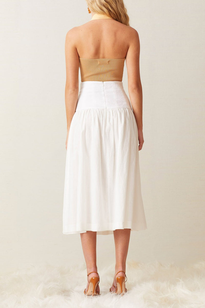 Bec and Bridge Sorbet Summer Halter Knit Top