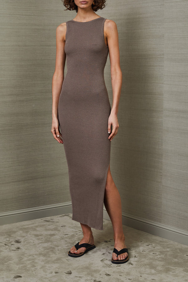 Bec and Bridge Riviera Midi Dress Silt