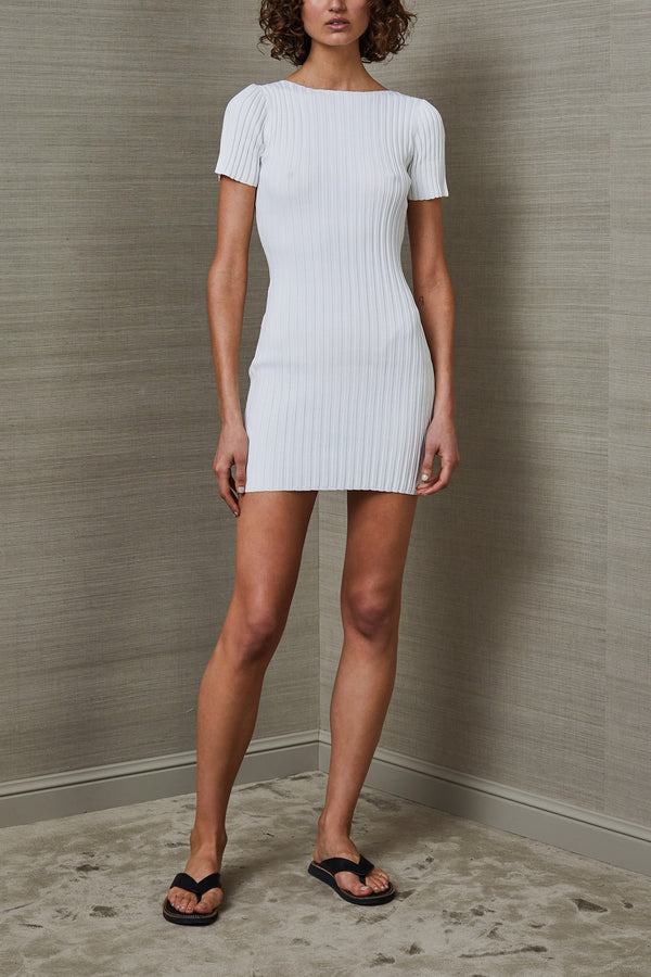 Bec and Bridge Deja Vu Mini Dress Ivory