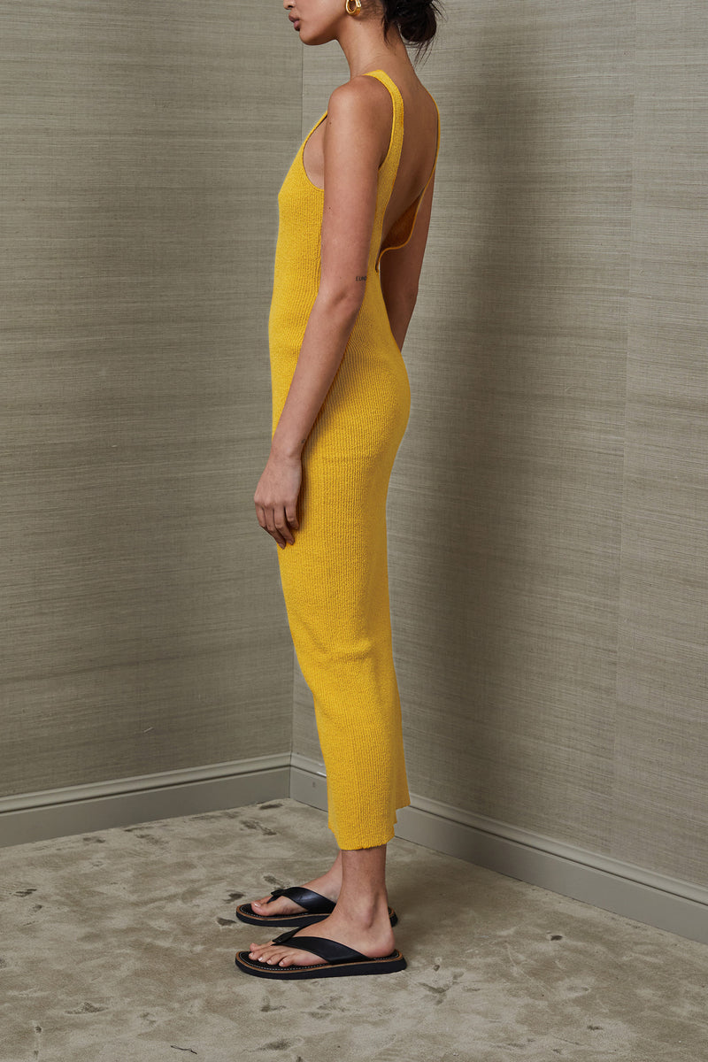 Bec and Bridge Bowie Midi Dress Mustard
