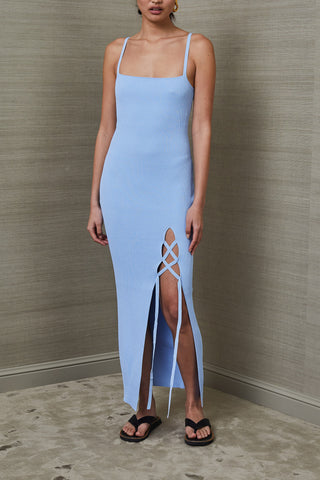 Bec and Bridge Lola Midi Dress Sky Blue