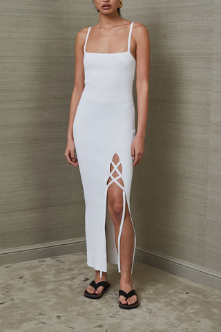 Bec and Bridge Lola Midi Dress Ivory