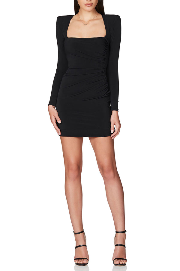 Nookie Harley Mini Dress Black