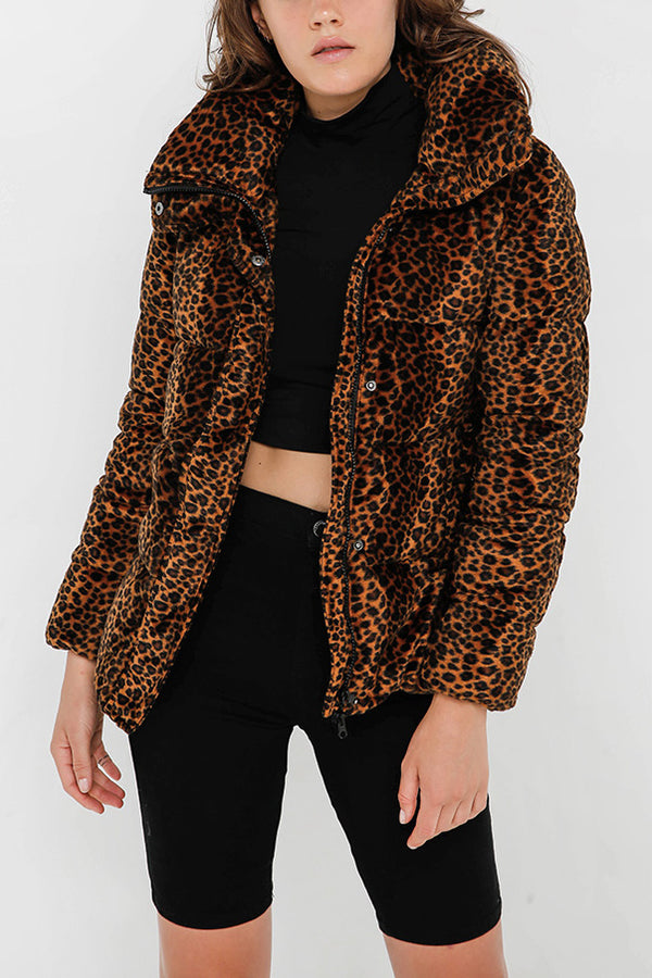 Unreal Fur Huff and Puff Leopard