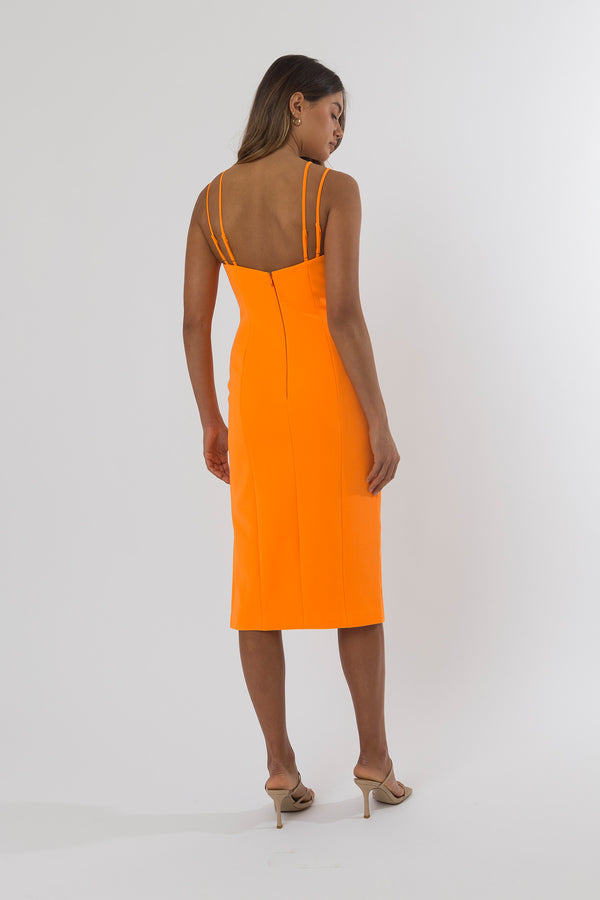 San Sloane Katina Midi Dress
