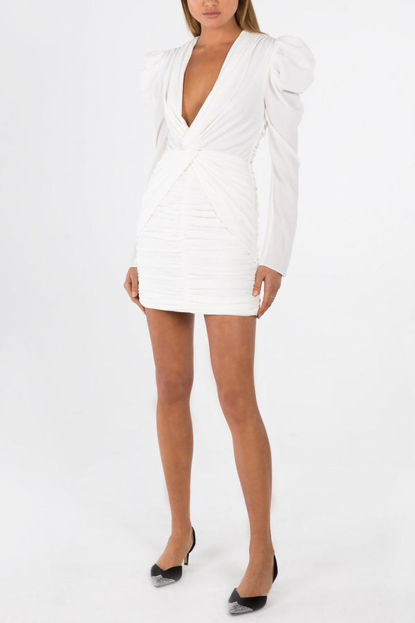 Misha Collection Vittoria Dress Ivory