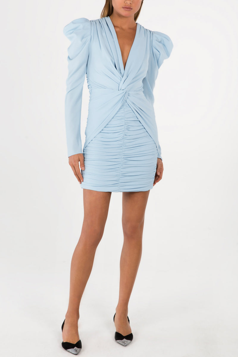 Misha Collection Vittoria Dress Powder Blue