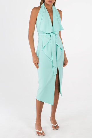 Misha Collection Lorena Dress Mint