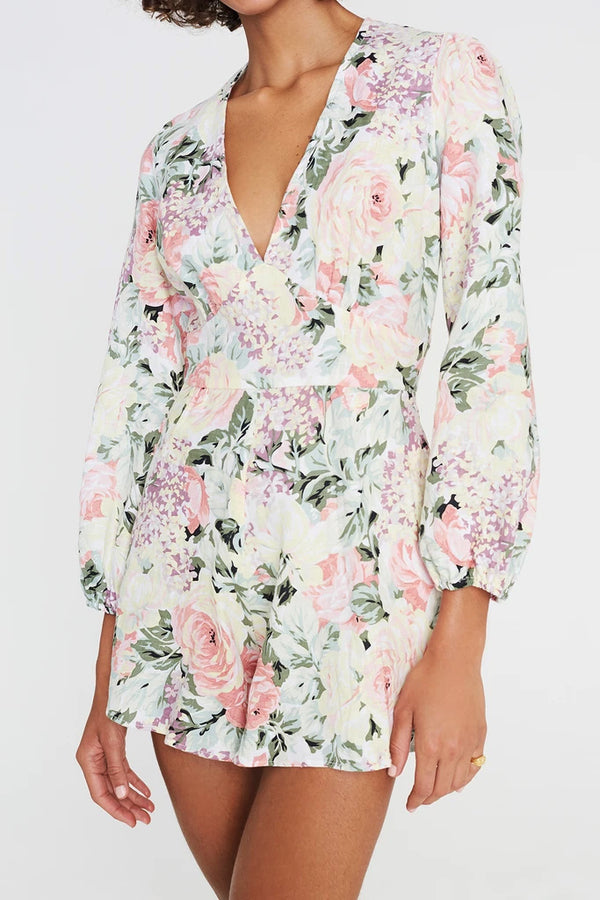Faithfull Maribelle Playsuit Venissa Floral