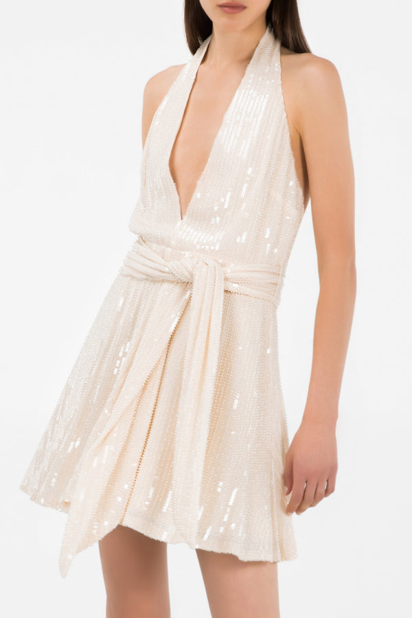 Misha Collection Tia Dress Champagne