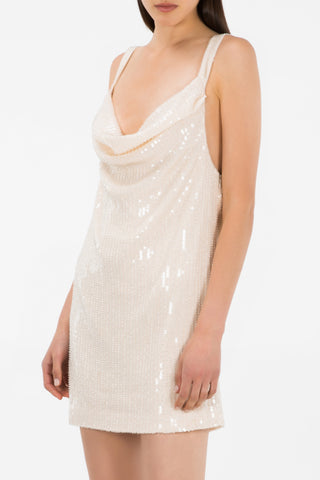 Misha Collection Maxie Dress Champagne