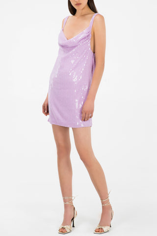 Misha Collection Maxie Dress Lilac