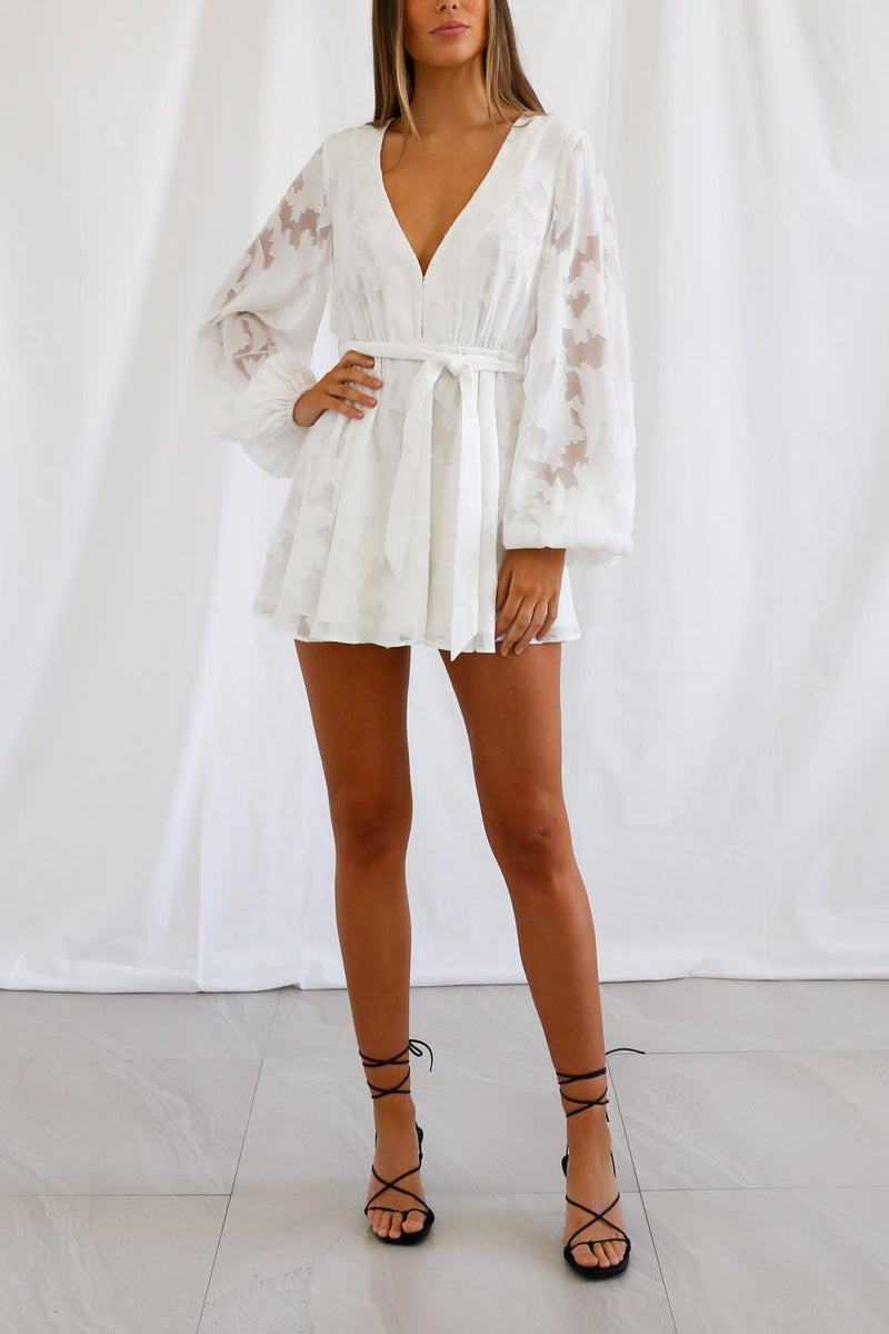 San Sloane Leighton Mini Dress
