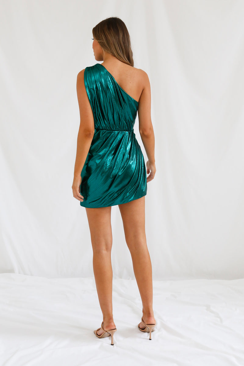 San Sloane Gamila Dress Teal