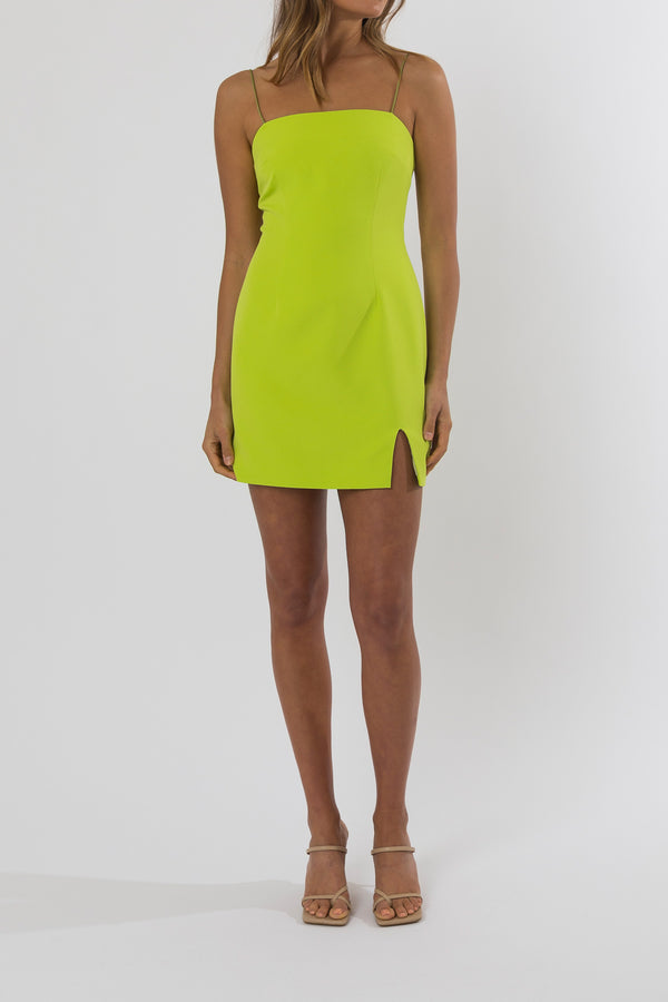 San Sloane Milli Mini Dress Citrus