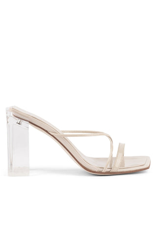 Jeffrey Campbell Mural-HI Nude Patent Clear