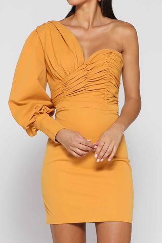 Elle Zeitoune Mandy Dress Saffron