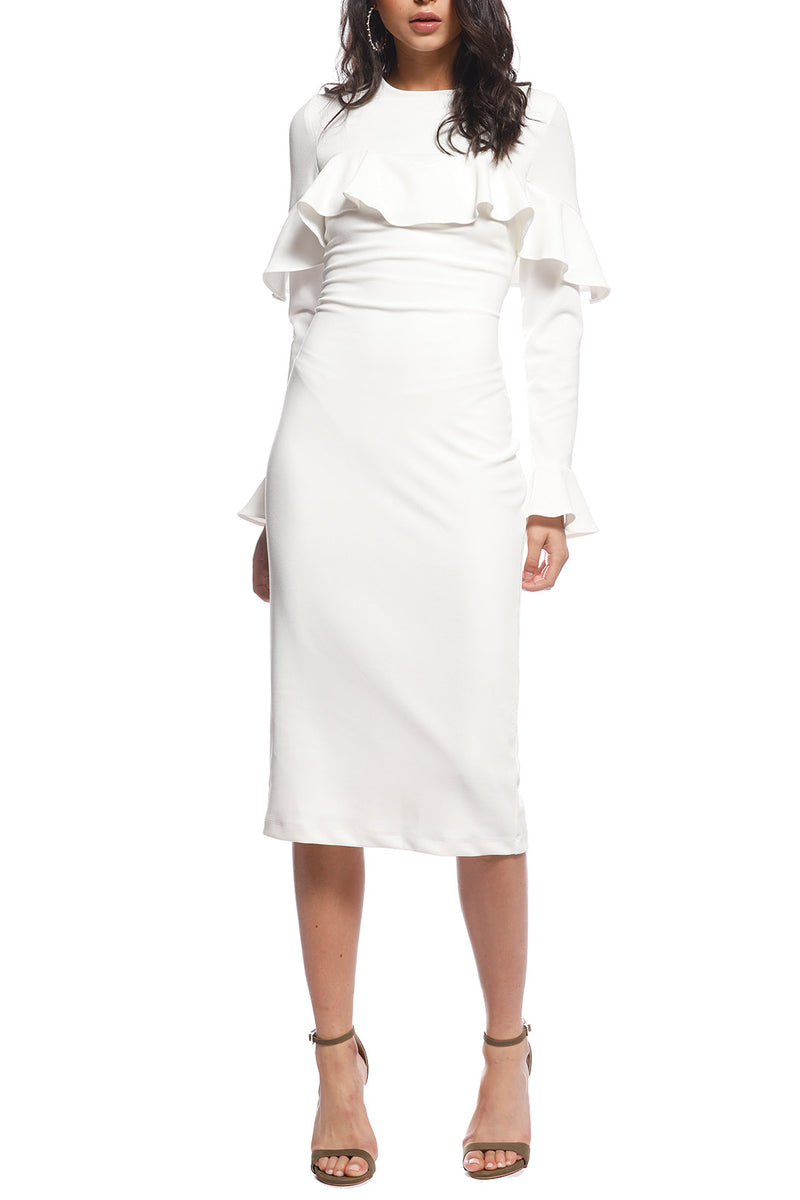 Pasduchas Arizona Midi Dress Ivory