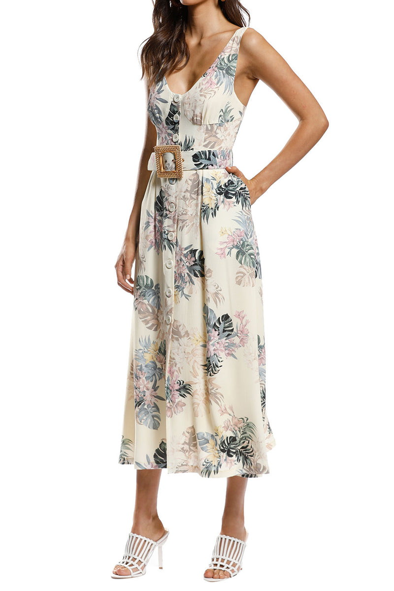 Pasduchas Tropico Midi Dress